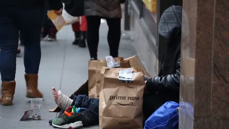Good Samaritan uses Amazon Prime Now to help the homeless