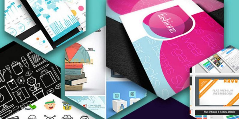 Get over $4,600 of awesome design elements — for any price you want to pay