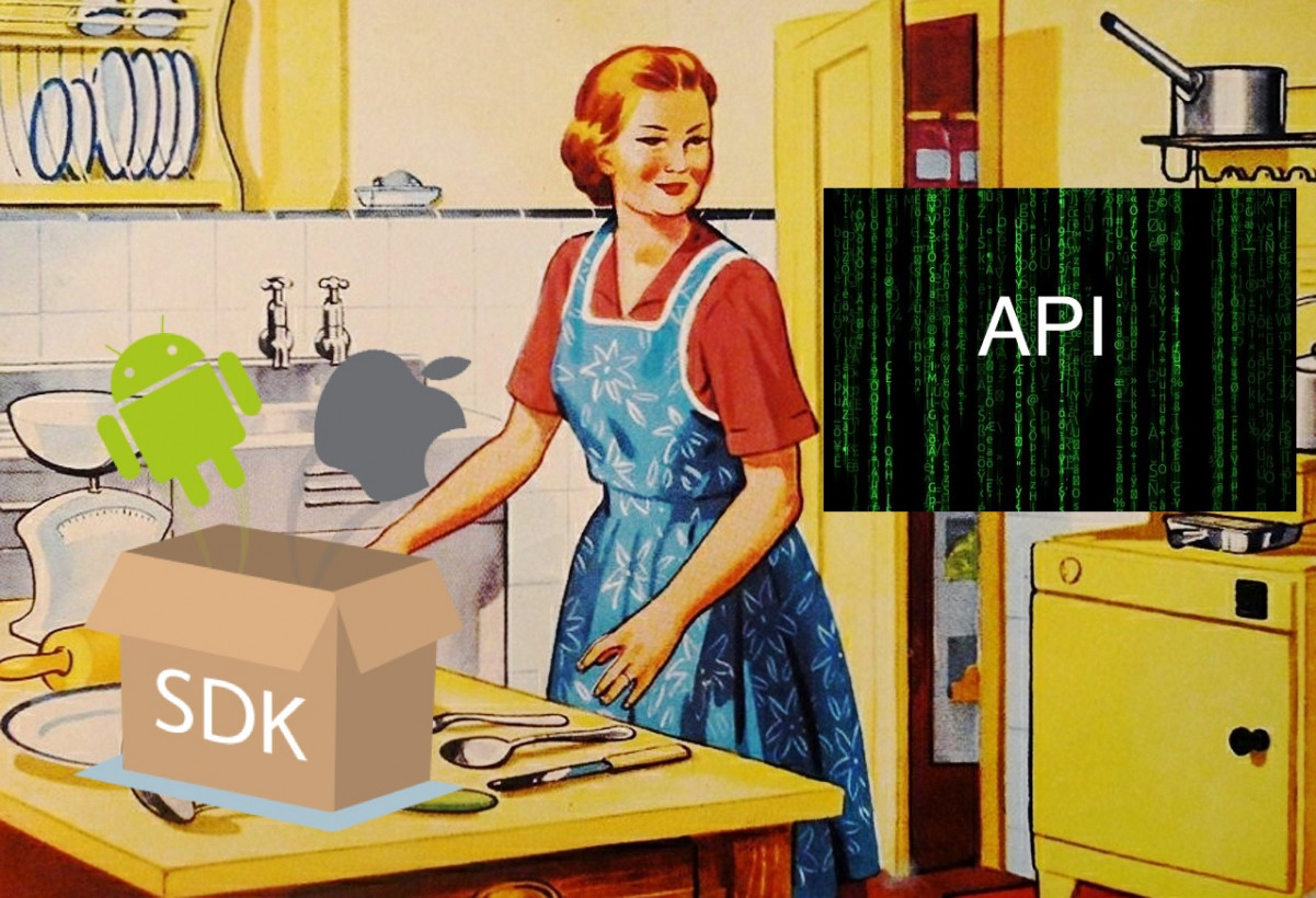 Here's how you choose between an SDK and an API
