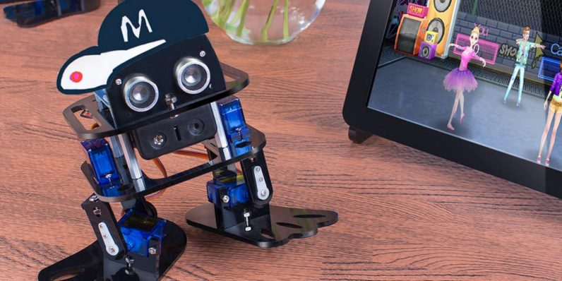 Build and program a robot that walks, dances and opens the world of robotics — for under $50