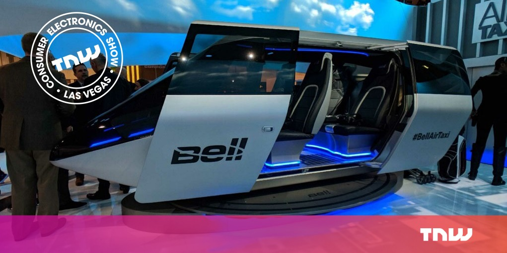 Flying taxi concept uses VR to show its future promise