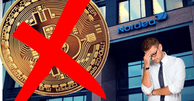 Scandinavia's largest bank just banned all its 30,000 employees from trading cryptocurrency