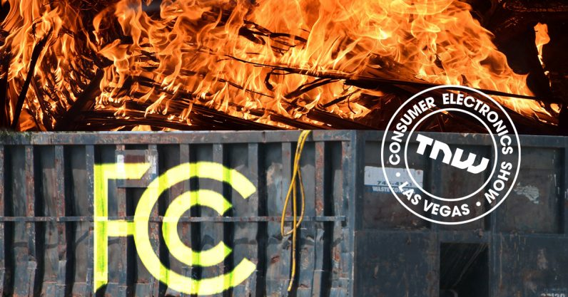 The FCC panel at CES 2018 was the most boring dumpster-fire I've ever seen