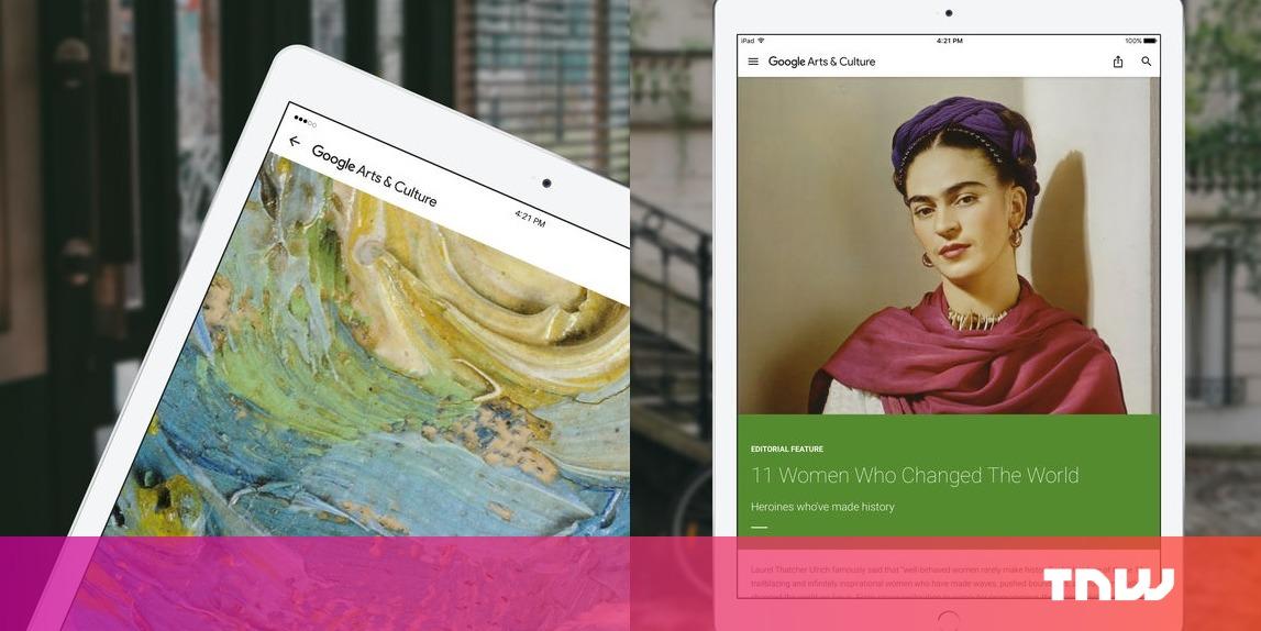 Google's dizzyingly popular art-matching selfie is region-locked