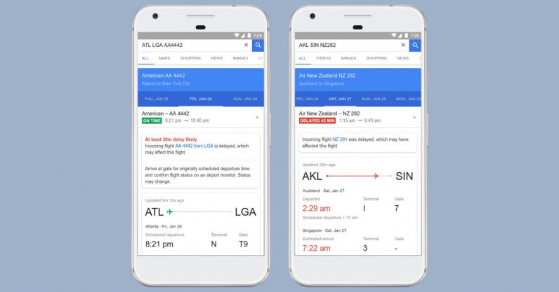Google is using AI to predict flight delays before airlines