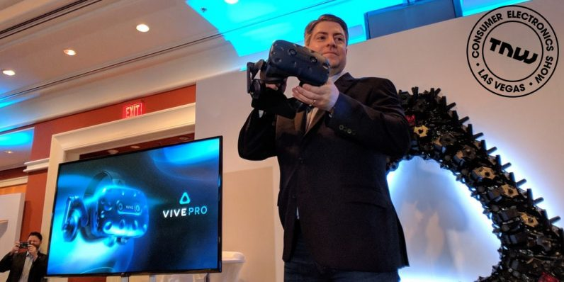 HTC unveils the Vive Pro and wireless Vive Adapter
