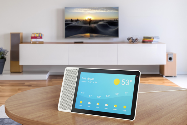 Lenovo's smart display has been imaginatively named 'Smart Display'