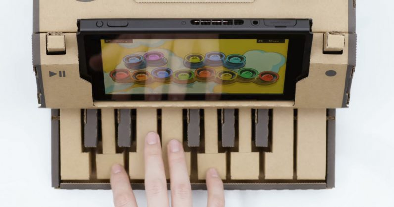 Nintendo extends Switch gameplay with its new Labo cardboard kits