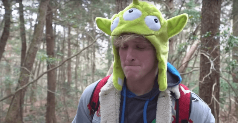 youtube, logan paul, suicide