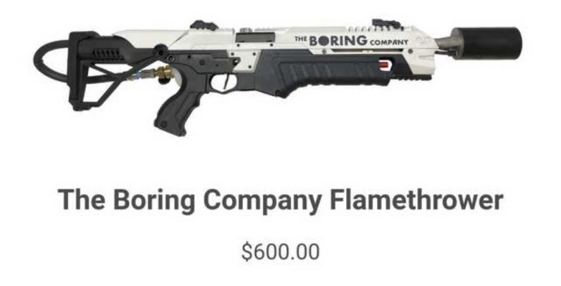 Elon Musk denies zombie apocalypse rumors, sells 10,000 flamethrowers just in case