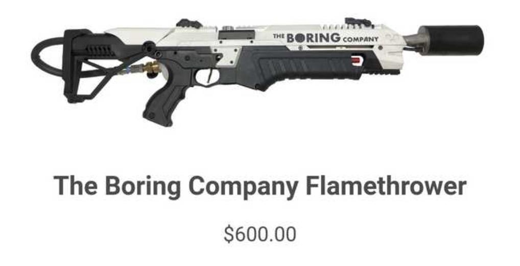 Elon Musk denies zombie apocalypse rumors, sells 10,000 flamethrowers just in case