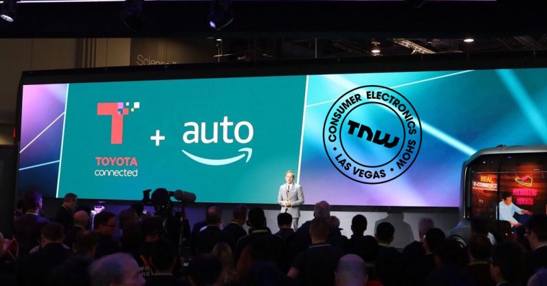 Toyota and Amazon team up to put Alexa in certain cars