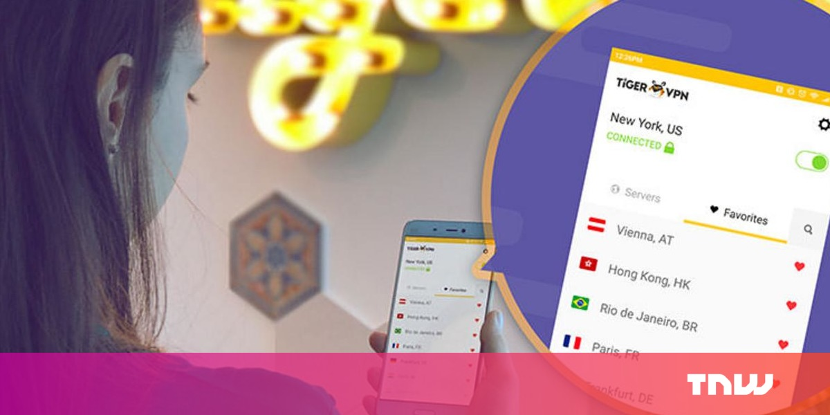 TigerVPN protects you online anywhere, anytime. And right now, it's an extra $15 off