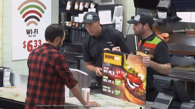 Burger King thinks a Whopper can help you understand net neutrality — it really can't