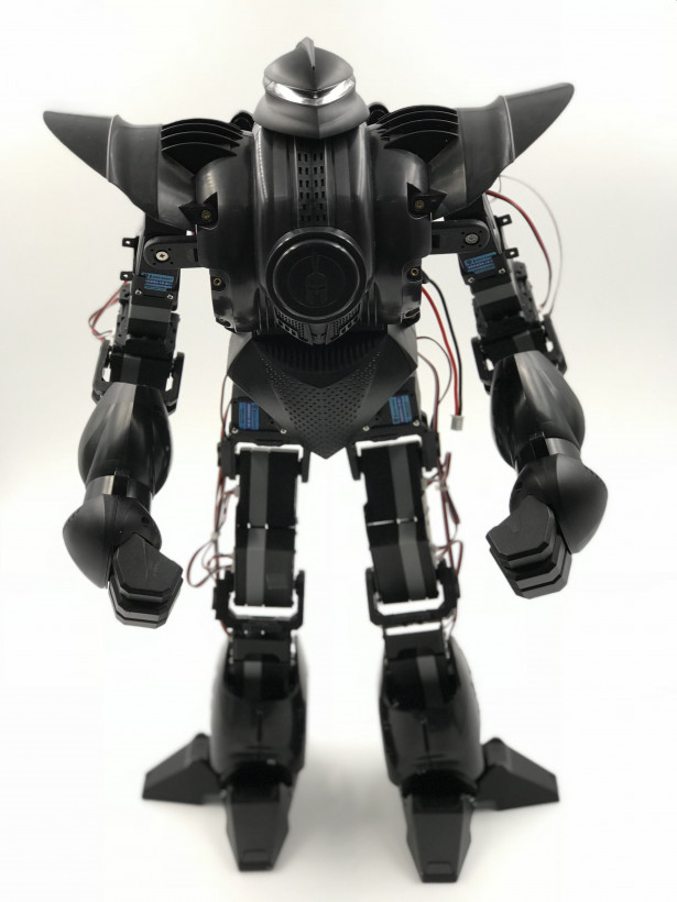 this pint sized battle robot packs enough power to knock you out