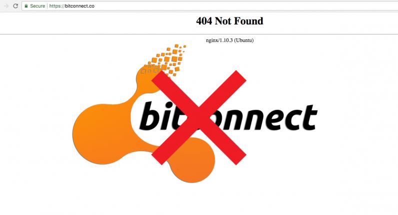 bitconnect, bitcoin, shut down,