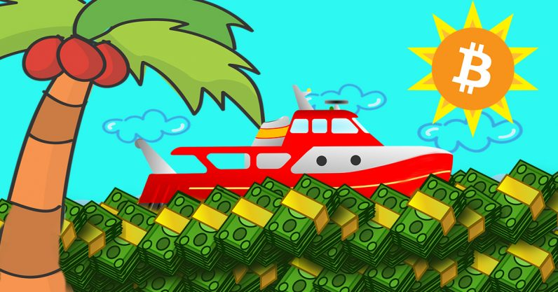 Boats and bros: Bitcoin's millionaire millennials smell like the 1980s
