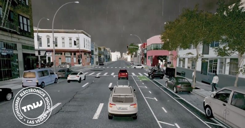 This advanced simulation engine is like driver's ed for autonomous cars