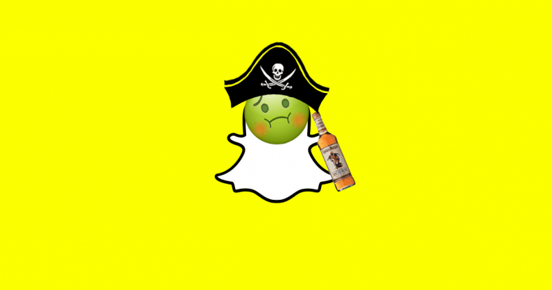 Captain Morgan Snapchat lens smacked down by UK's advertising regulators