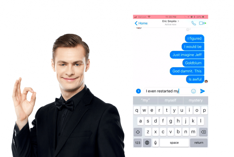 A cruel Facebook Messenger bug only lets users type a few words at a time