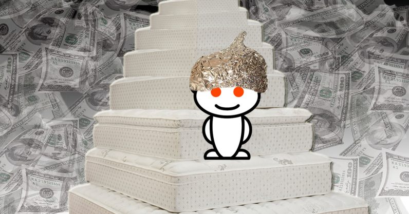 A Reddit mattress conspiracy theory got even weirder after top comment got deleted