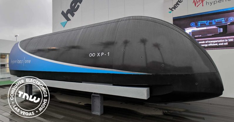 Virgin Hyperloop One shows off its upcoming passenger app and travel pods