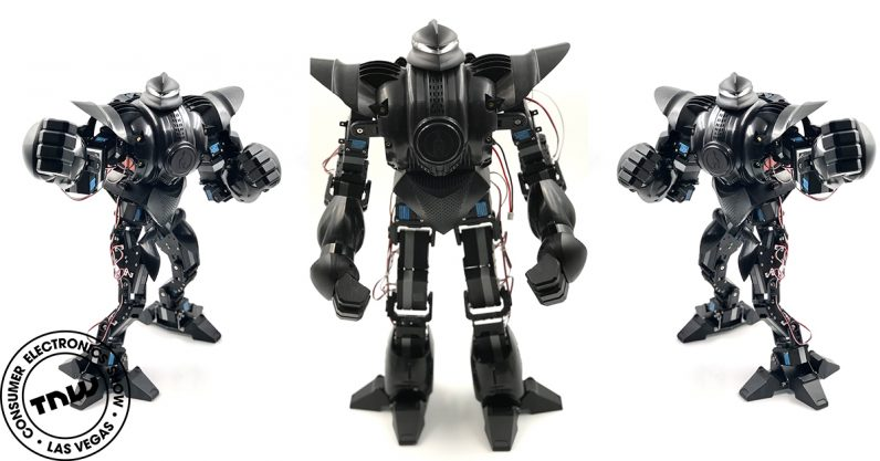 This pint-sized battle robot packs enough power to knock you