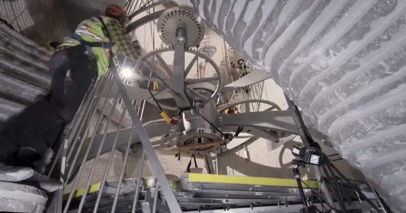 A 42 Million 10 000 Year Clock Is Being Installed On Jeff Bezos
