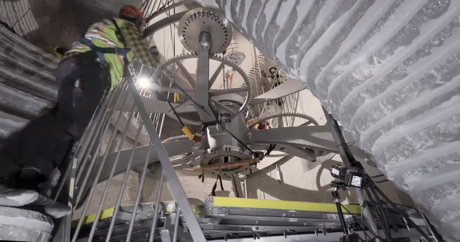 A $42 million '10,000 year clock' is being installed on Jeff Bezos' property