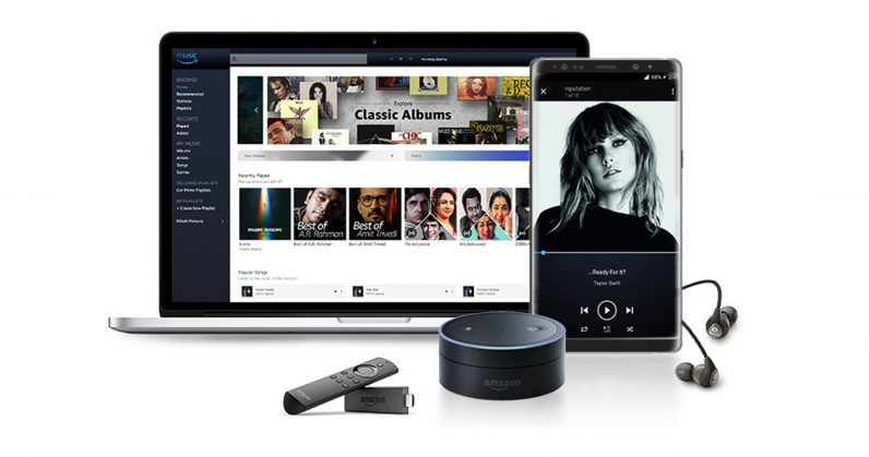 Amazon's Prime Music streaming service lands in India