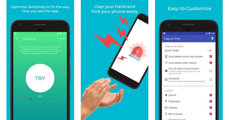 clap to find my phone app lets you clap to find your phone