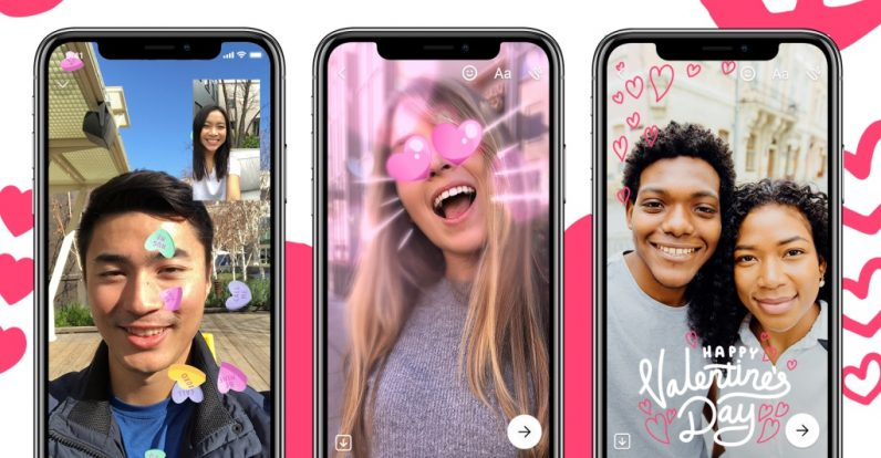 Facebook Messenger offers new couples old features for Valentine's Day