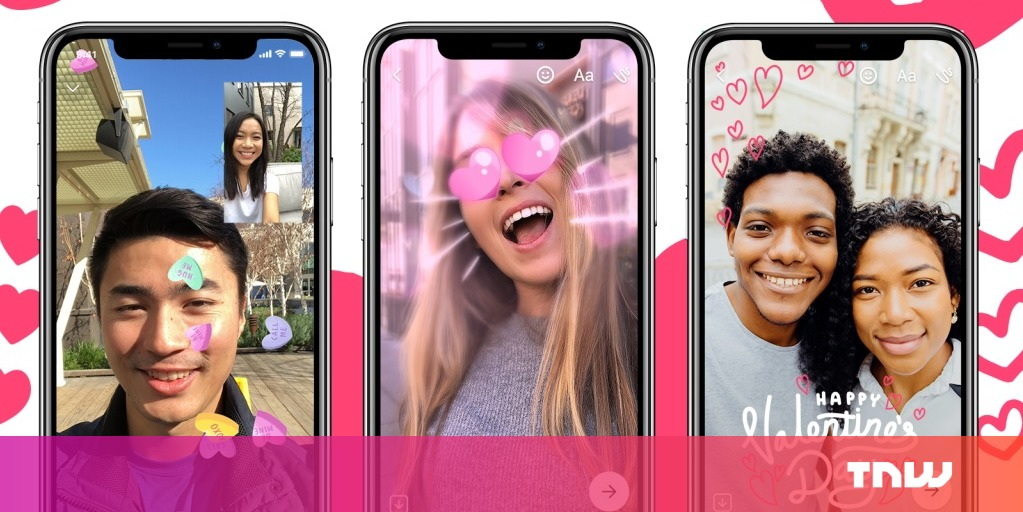 photo image Facebook Messenger offers new couples old features for Valentine's Day