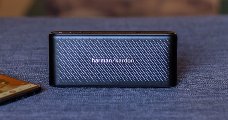 harman kardon 39 s traveler speaker puts detailed sound in. Black Bedroom Furniture Sets. Home Design Ideas