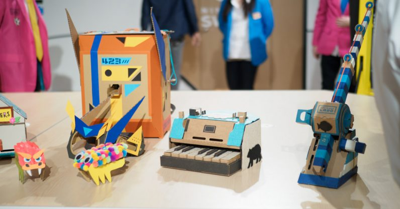 Nintendo's Labo is so incredibly creative it might just work