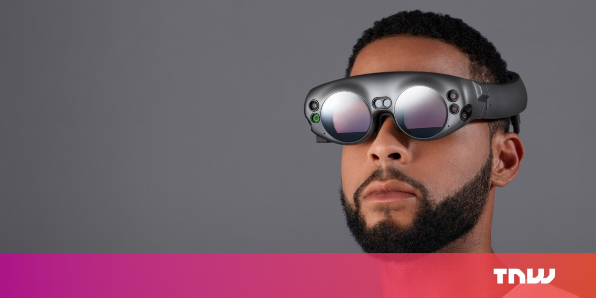 photo image Magic Leap thinks you'll wear its pricey AR glasses to watch NBA games