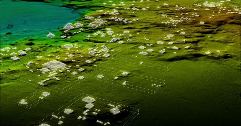Lasers reveal massive Mayan city buried for centuries