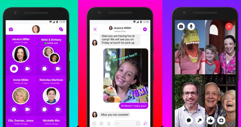 Facebook's Messenger Kids app is now on Android