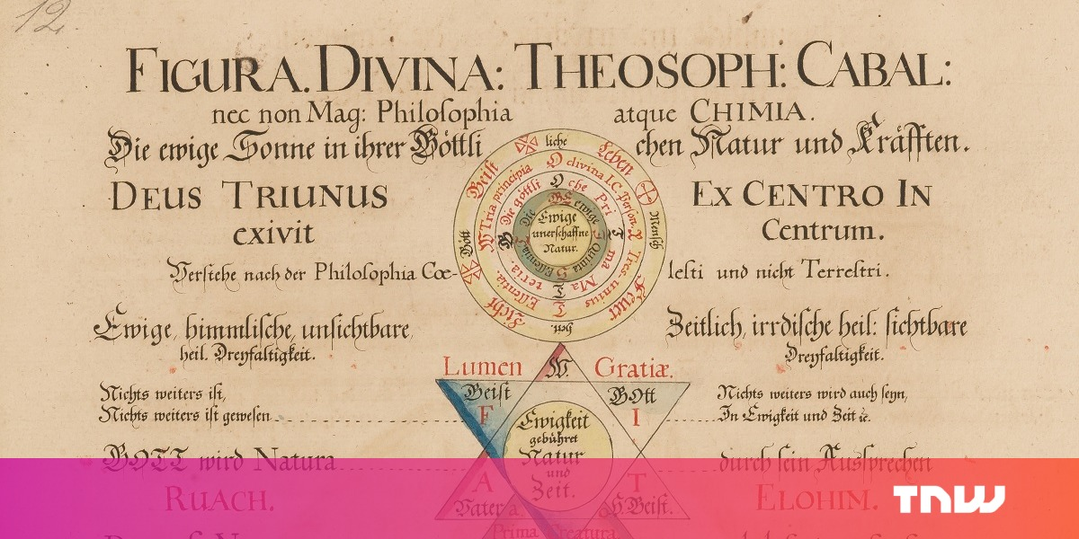photo image Dutch library puts massive collection of historical occult books online