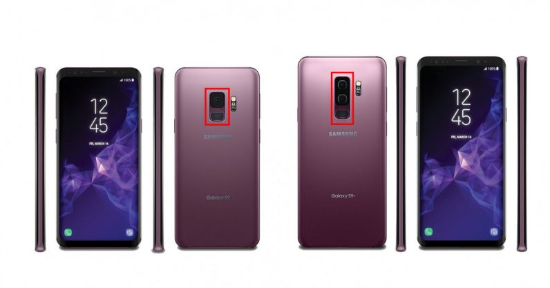 Purple Galaxy S9 leaks, confirms only Plus model will have dual cameras