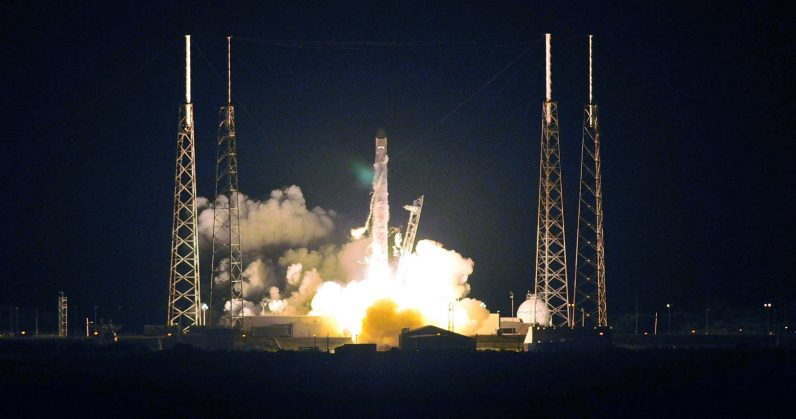 SpaceX is launching its broadband satellites into orbit this weekend [Update: Make that February 21]