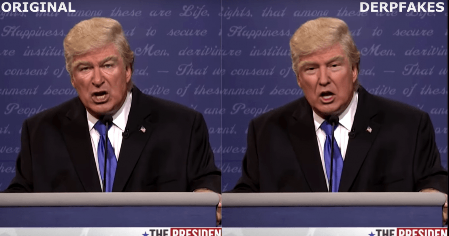 Most In Fake Algorithm Donald Trump Yet Nails Convincing Deepfakes