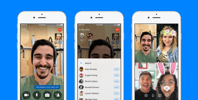 Facebook Messenger now lets you add friends during calls without stopping the party