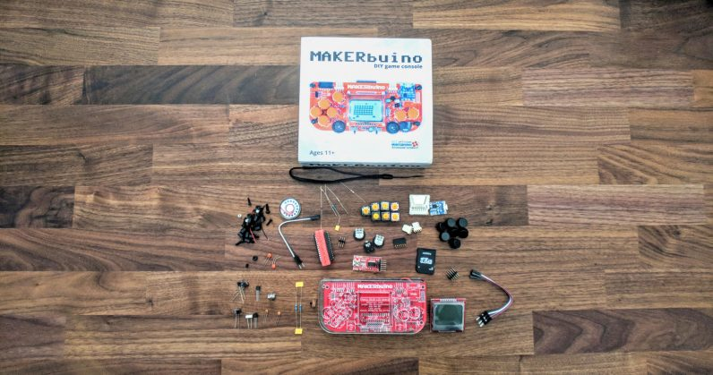This DIY game console is as much fun to build as it is to play