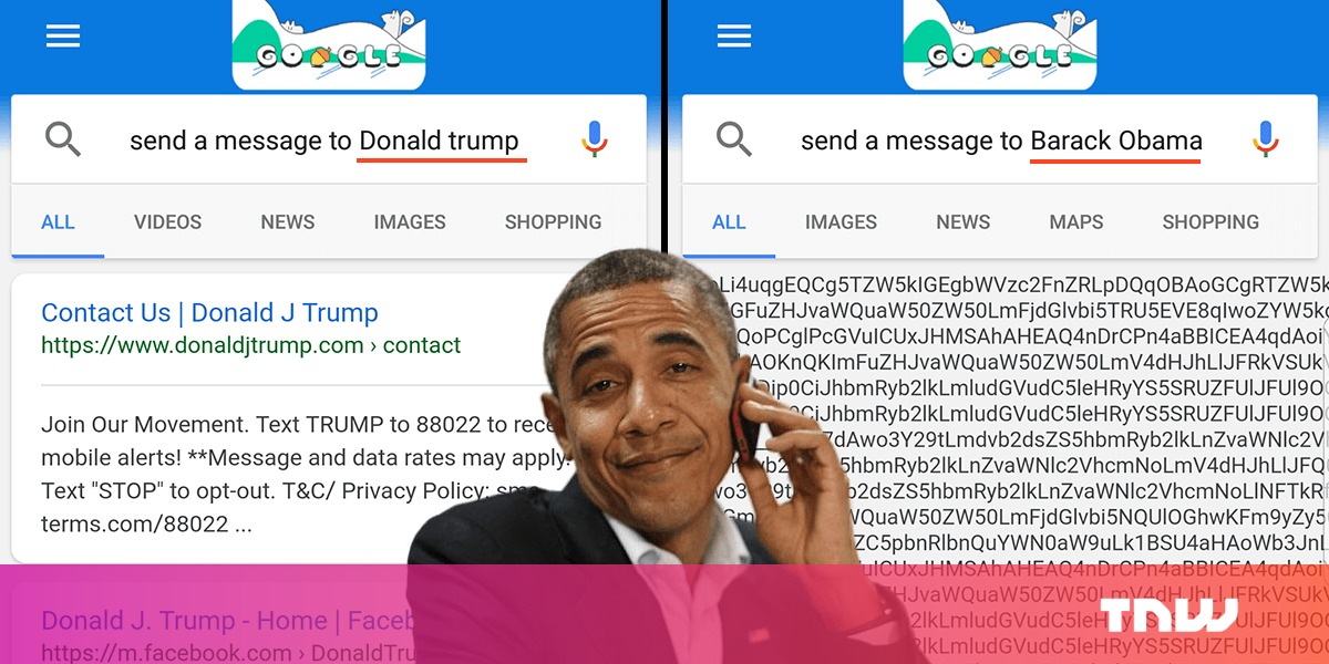 how to send message to google