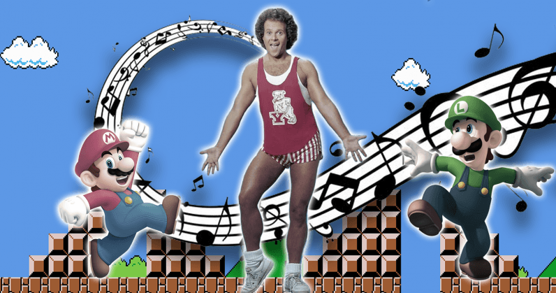 This 8-bit retro video game mix will have you sweatin' to the oldies