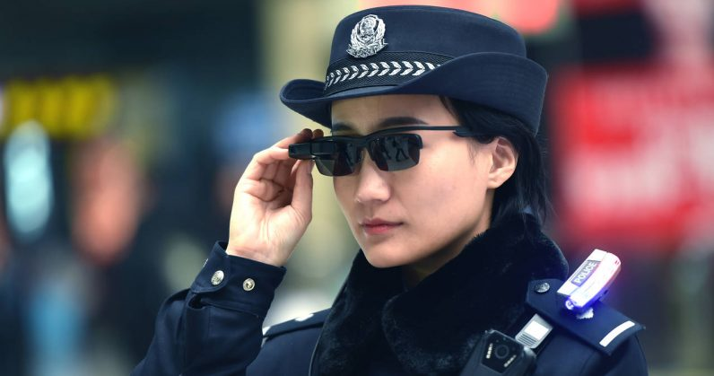 These Chinese facial recognition glasses are a dystopian nightmare come true