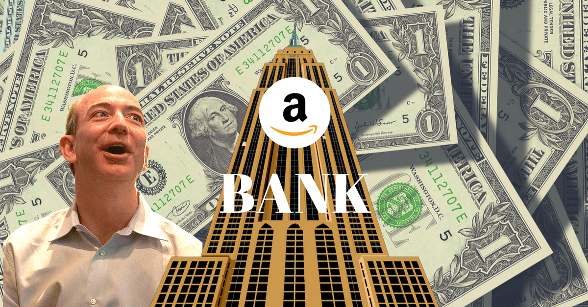 Opening a bank is a genius move for Amazon