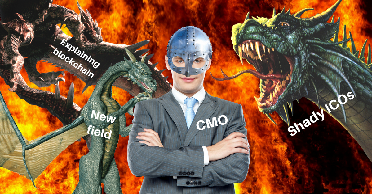 Blockchain CMOs are faced with a unique marketing challenge