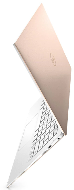 Dell's new XPS 13 in, you guessed it, rose gold